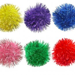 Glitter Ball Cat Toy