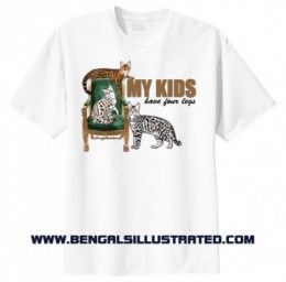 My Kids Have Four Legs Tshirt