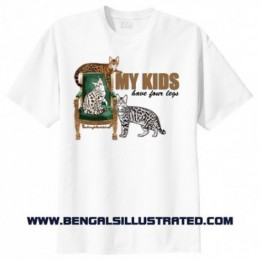 My Kids Have Four Legs T-shirt