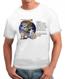 The Most Popular Breed- Bengal with Text Tshirt
