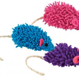 Mop Mousie Cat Toy