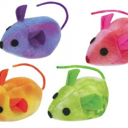 Tye Dye Mouse Cat Toy