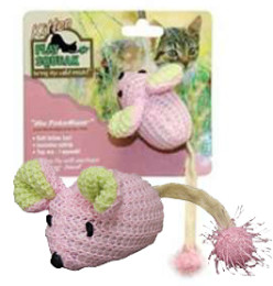 Baby Pinkie Mouse – Cat Toy