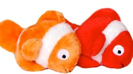 Coral Fish Catnip Cat Toy