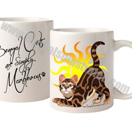 Bengal Cats Are Simply Marbleous Mug