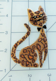 Bengal Cat Iron On Applique