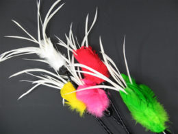 Fanatic Feather Teaser Wand – Cat Toy