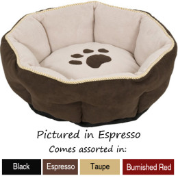 Pawsitively Purrfect Sculptured Pet Bed