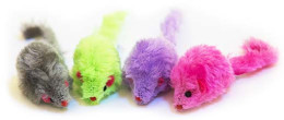 Groovy Love Multi-Mice 4 pack – Cat Toy