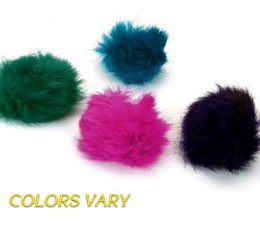 Real Fur Cat Toy – Fur Balls