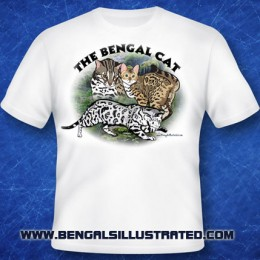 Bengal Cat T-shirt – In the Jungle