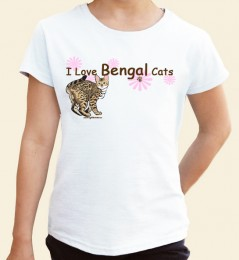 I Love Bengal Cats Toddler T-shirt