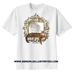Bengal Cat T-shirt – Heritage