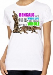 Bengals Make My Life Whole – T-shirt