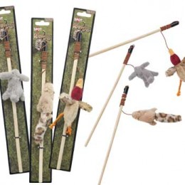 Forest Animals Teaser Wand – Cat Toy