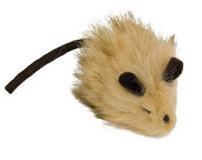 Wooly Mouse Cat Toy
