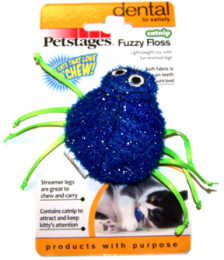 Fuzzy Spidey – Cat Toy
