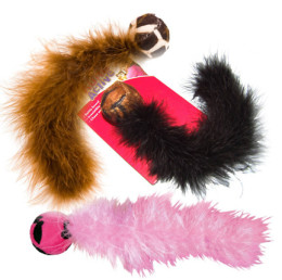Safari Boa Tail Cat Toy