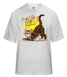 Bengal Cats Are Simply Marbleous – T-shirt