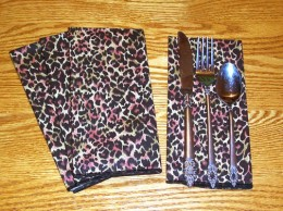 Cloth Dinner Napkins – Animal Prints