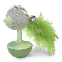 Weeble Wobble Bird – Cat Toy